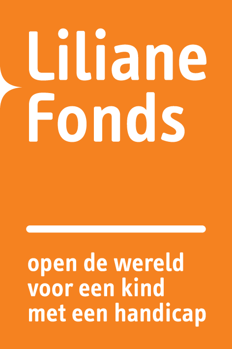Liliane Fonds logo + payoff